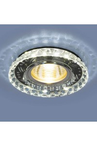 Встраиваемый светильник Elektrostandard 8351 MR16 CL/BK прозрачный/черный 4690389098376
