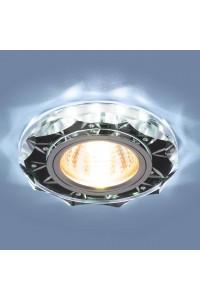 Встраиваемый светильник Elektrostandard 8356 MR16 CL/BK прозрачный/черный 4690389098406