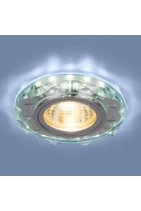 Встраиваемый светильник Elektrostandard 8356 MR16 CL/WH прозрачный/белый 4690389098413