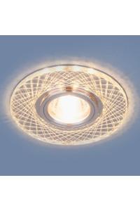 Встраиваемый светильник Elektrostandard 8091 MR16 SL/CH зеркальный/хром 4690389105142