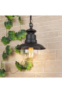 Уличный подвесной cветильник Elektrostandard Talli H GL 3002H черный 4690389106590