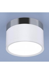 Потолочный светодиодный светильник Elektrostandard DLR029 10W 4200K белый матовый/хром 4690389122002