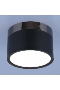 Потолочный светодиодный светильник Elektrostandard DLR029 10W 4200K черный матовый 4690389122019