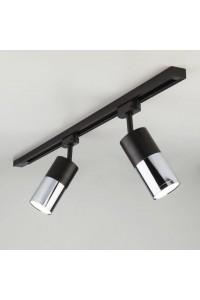 Трековый светодиодный светильник Elektrostandard Avantag Черный матовый/хром 6W LTB27 4690389123511