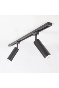 Трековый светодиодный светильник Elektrostandard Oskar черный 10W 4200K LTB28 4690389123535