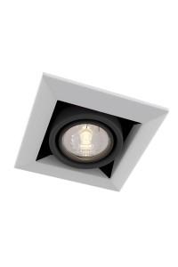 Встроенный светильник  Maytoni Downlight DL008-2-01-W