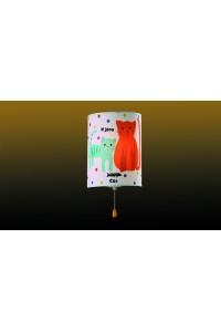 Бра c выключателем ODEON LIGHT CATS 2279/1W