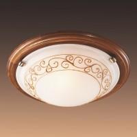 Настенно-потолочный светильник SONEX BAROCCO WOOD 234