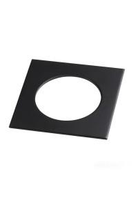 Рамка декоративная Novotech Metis 357595 черный IP44