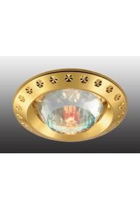 Декоративный встраиваемый неповоротный светильник NOVOTECH GLAM 369648