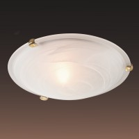Настенно-потолочный светильник SONEX DUNA 353 золото