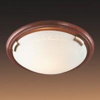 Настенно-потолочный светильник SONEX GRECA WOOD 260