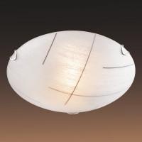 Настенно-потолочный светильник SONEX LINT BLACK 255