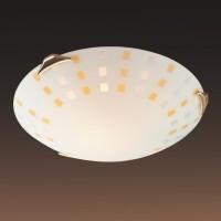 Настенно-потолочный светильник SONEX QUADRO AMBRA 263