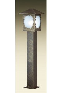 Уличный светильник на столбе ODEON LIGHT VISMA 2747/1A