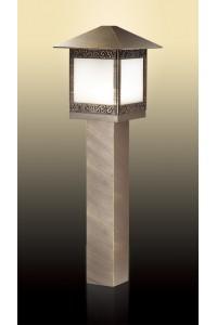 Уличный светильник на столбе, высота 8Светильник см ODEON LIGHT NOVARA 2644/1A